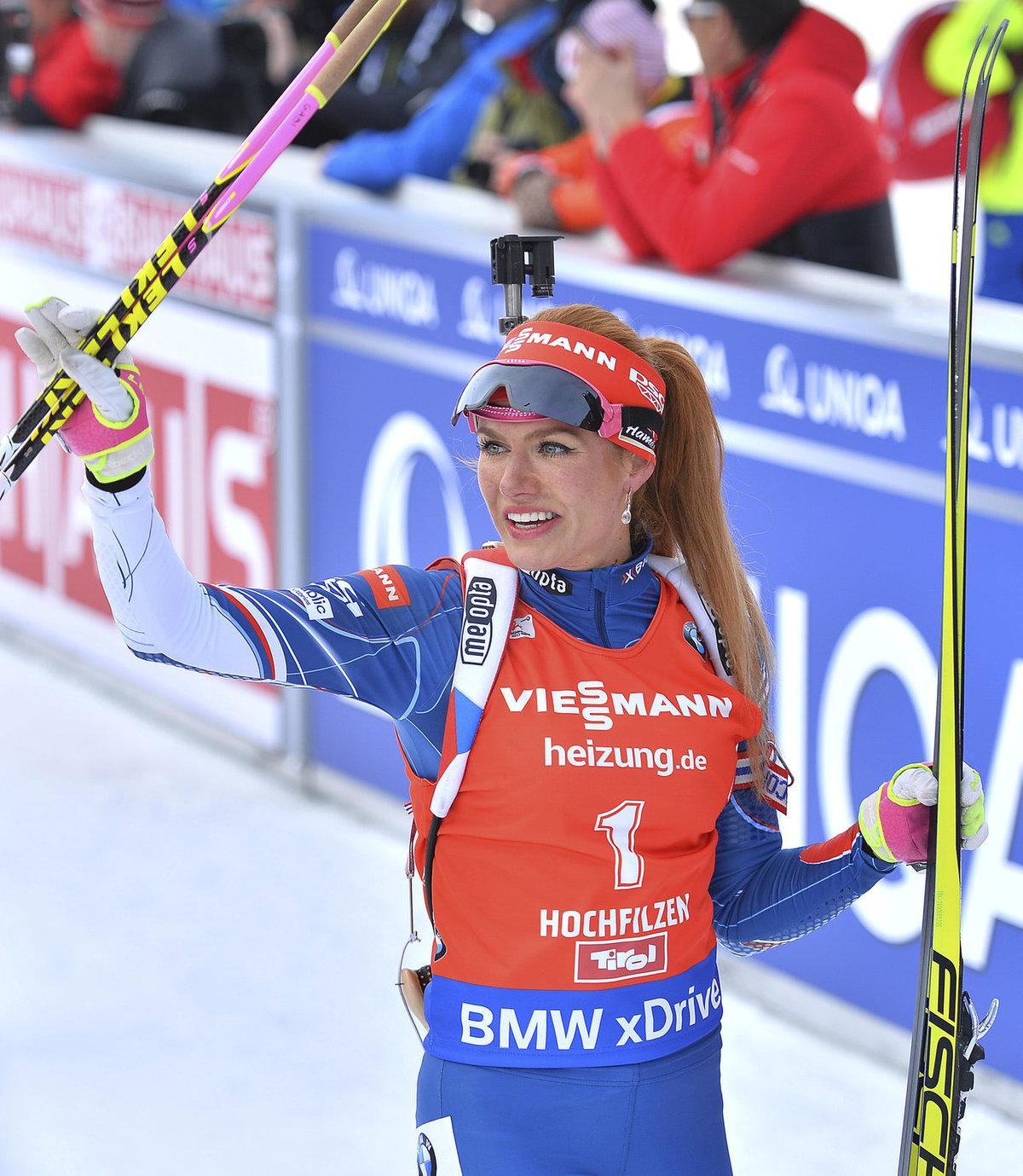Největší česká biatlonová hvězda Gabriela Koukalová