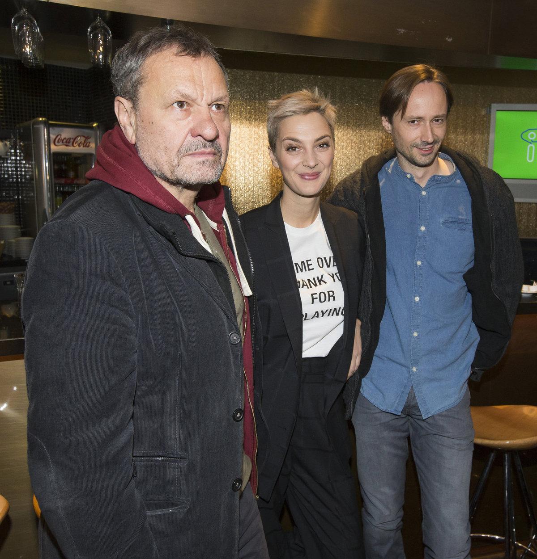 Miroslav Krobot, Bára Poláková a Jaroslav Plesl