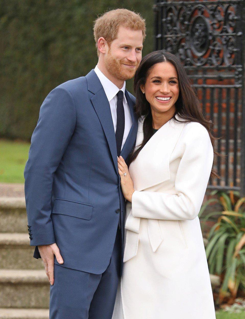 Meghan a Harry pár hodin po oznámení zasnoubení
