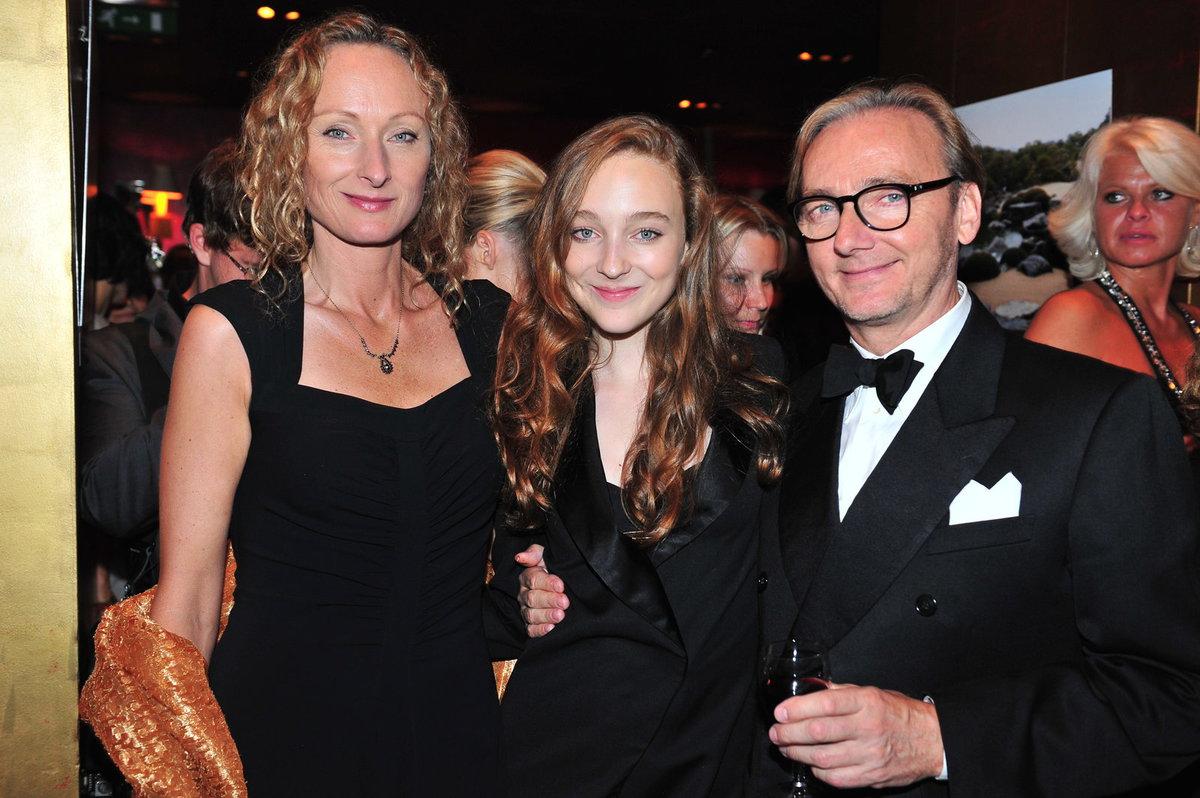 Alice s Ondřejem Havelkou a dcerou Rozárkou, která se vydala na dráhu modelky.