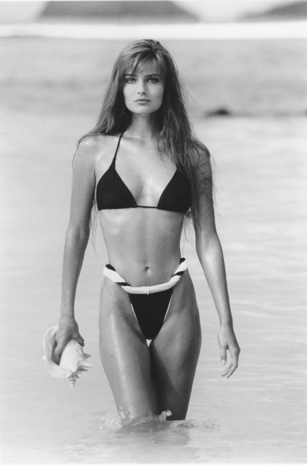 Jedna z prvních jejích fotek pro Sports Illustrated.