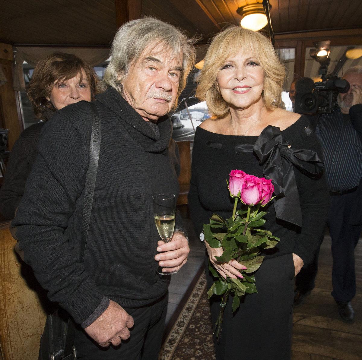 Hana Zagorová s Petrem Rezkem.