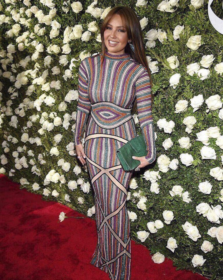 2017 - Mexická zpěvačka Thalía a hvězda telenovely Rosalinda
