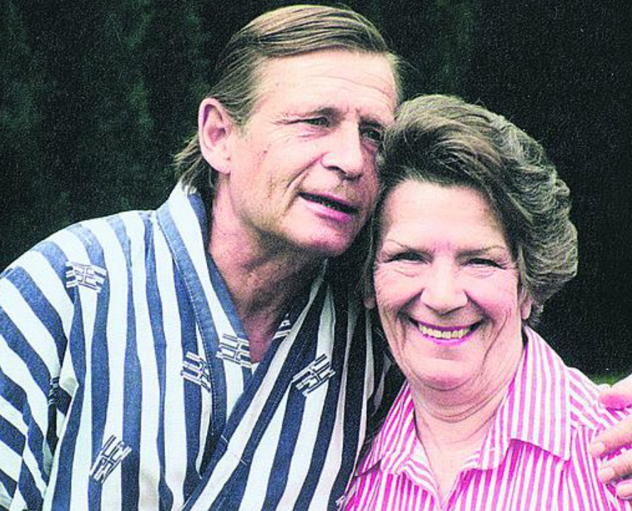 Jiří Kodet s maminkou Jiřinou Steimarovou