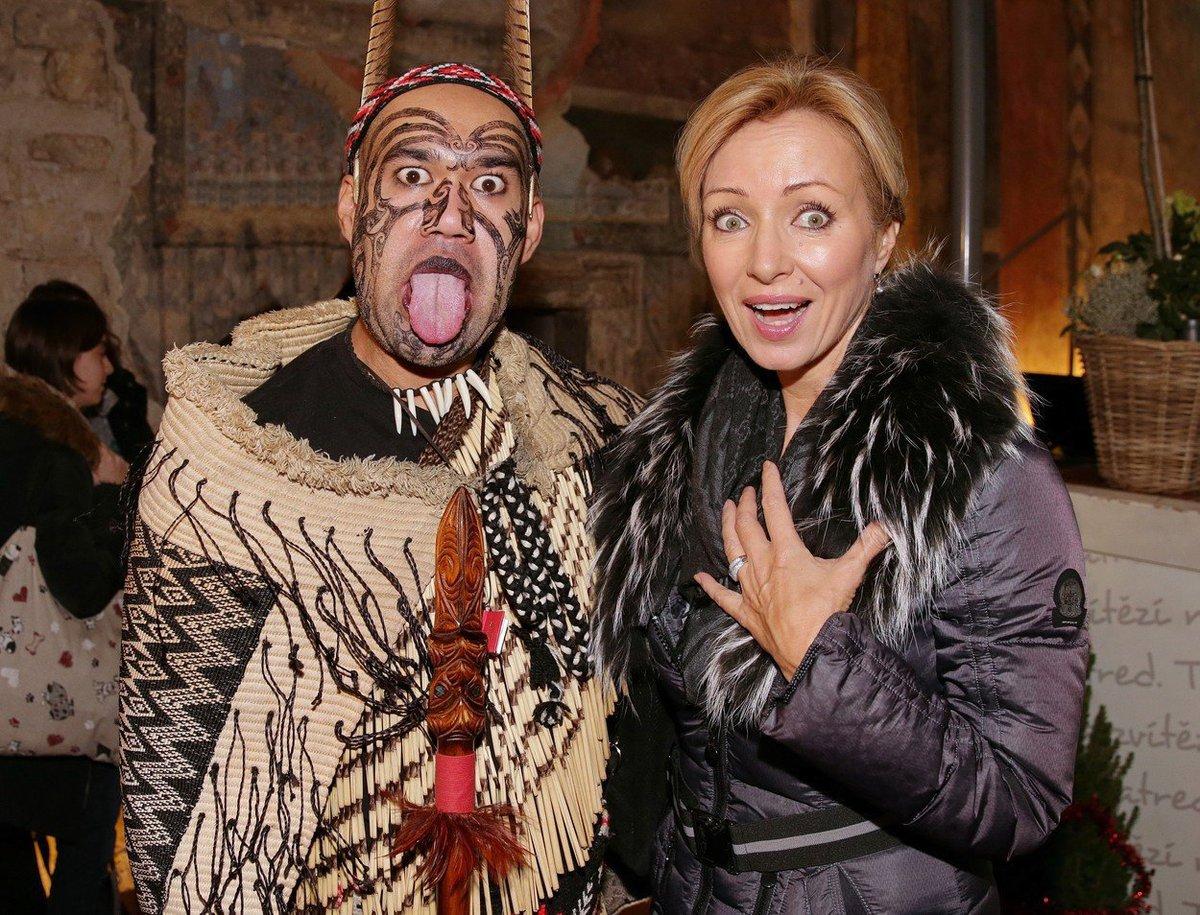 Kateřina Brožová se lekla, když na ni maorský válečník vyplázl jazyk