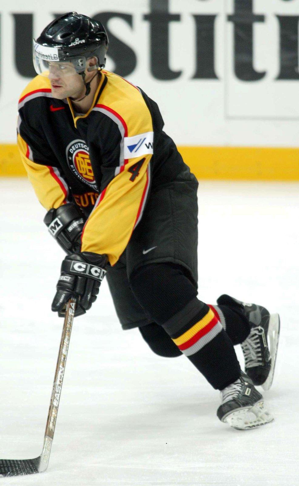 Bývalý hokejový obránce Daniel Kunce