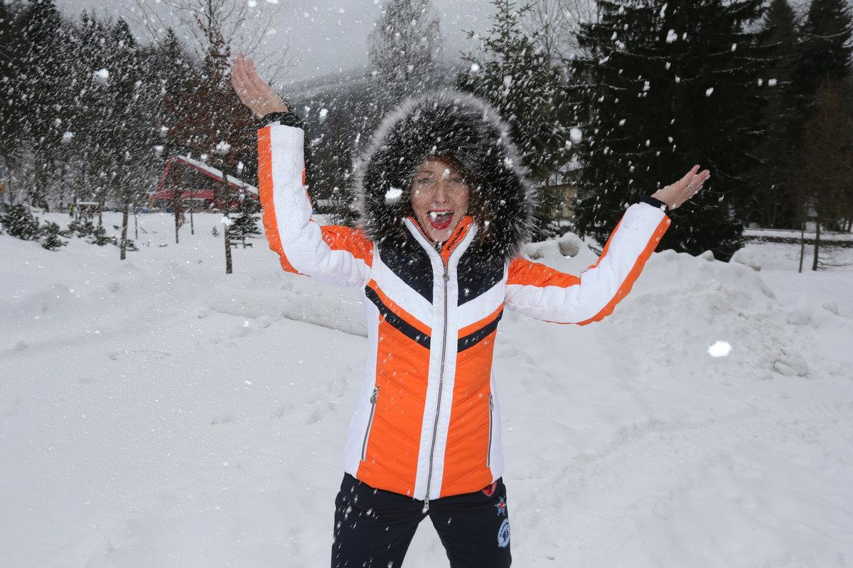 Veronika Arichteva na horách