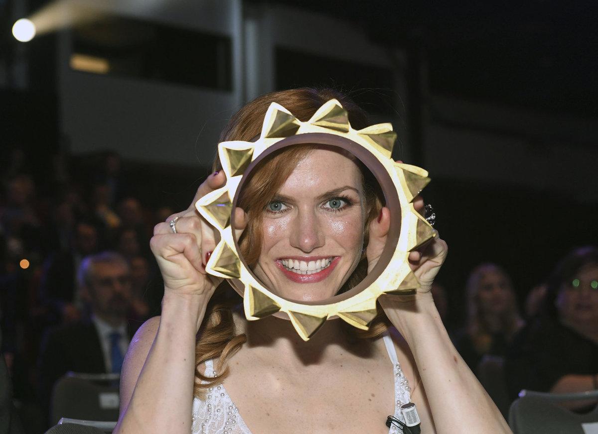 Gabriela Koukalová s korunou pro Sportovkyni roku