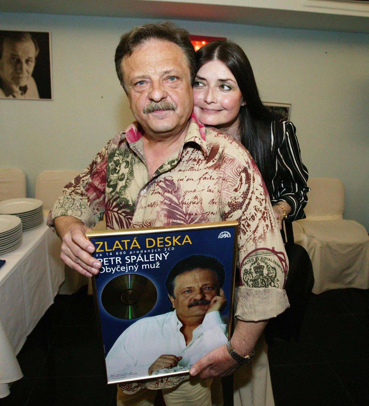 Miluška Vobroníková a Petr Spálený v roce 2005