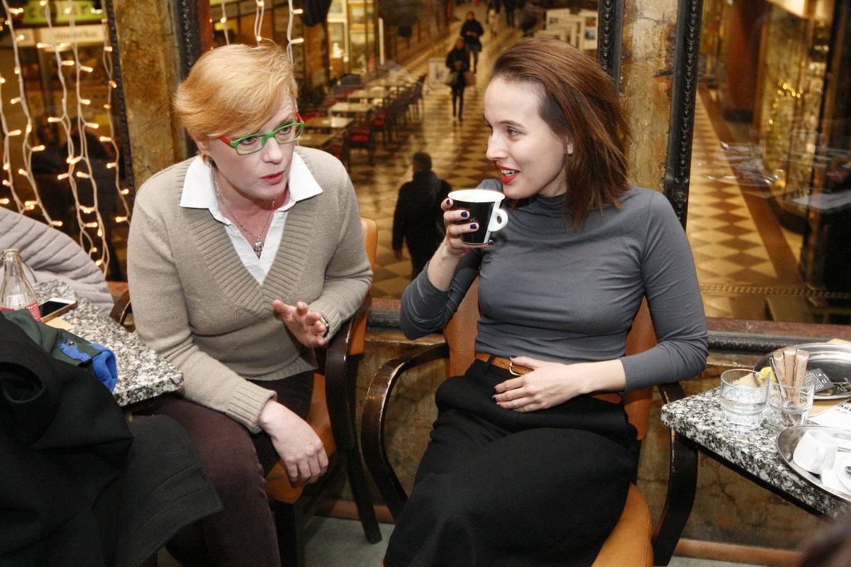 Helena Dytrtová a Tereza Voříšková
