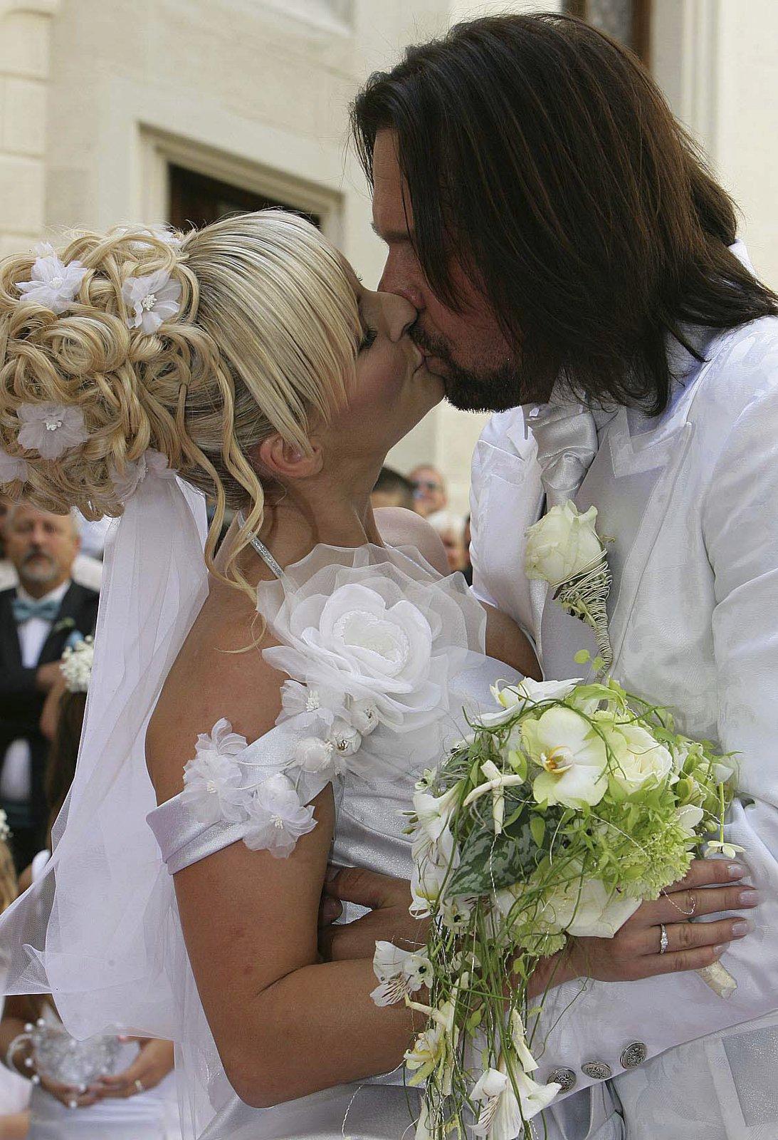 Svatba Jiřího Pomeje a Ivety Bartošové