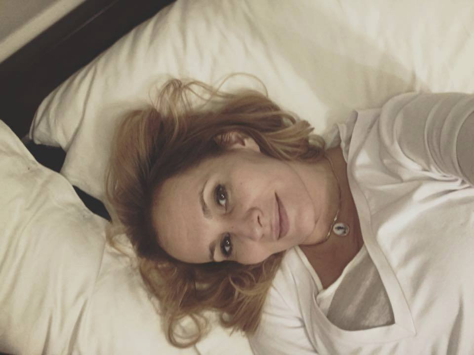 Monika Absolonová lehla do postele se zánětem průdušek.