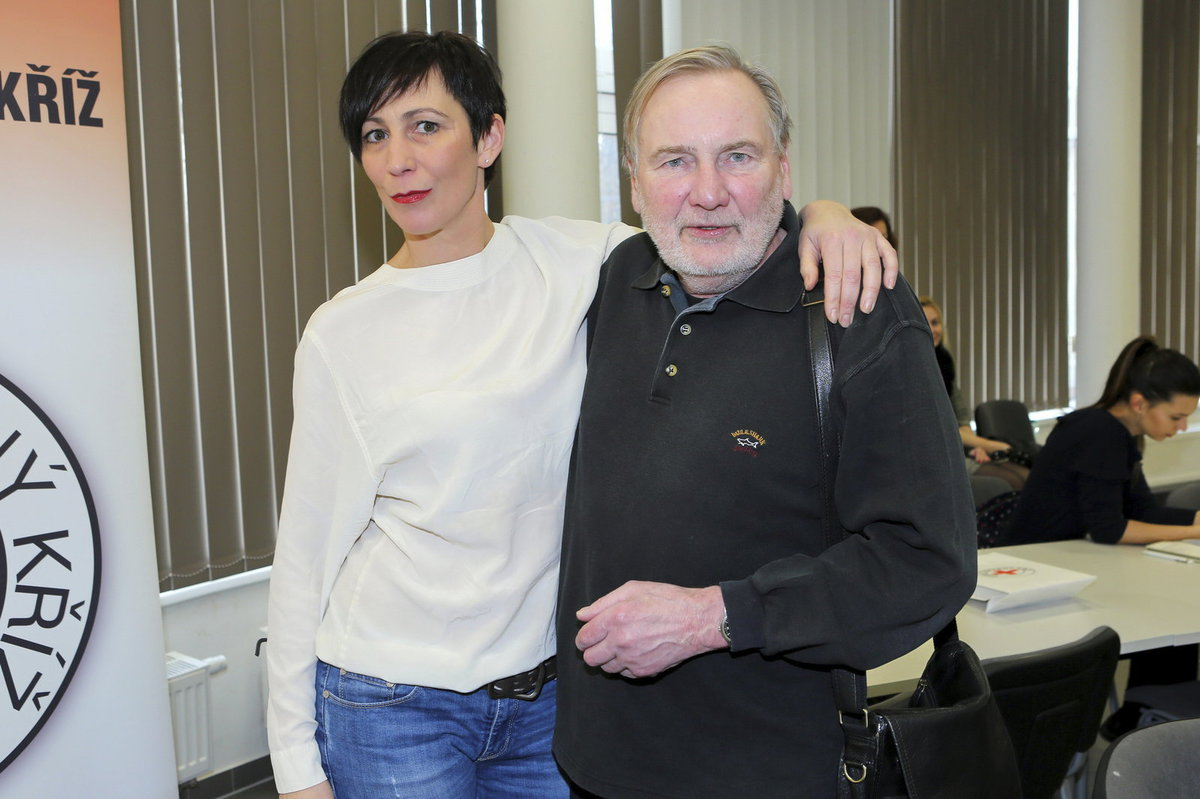 Kristýna Frejová a Jiří Štěpnička