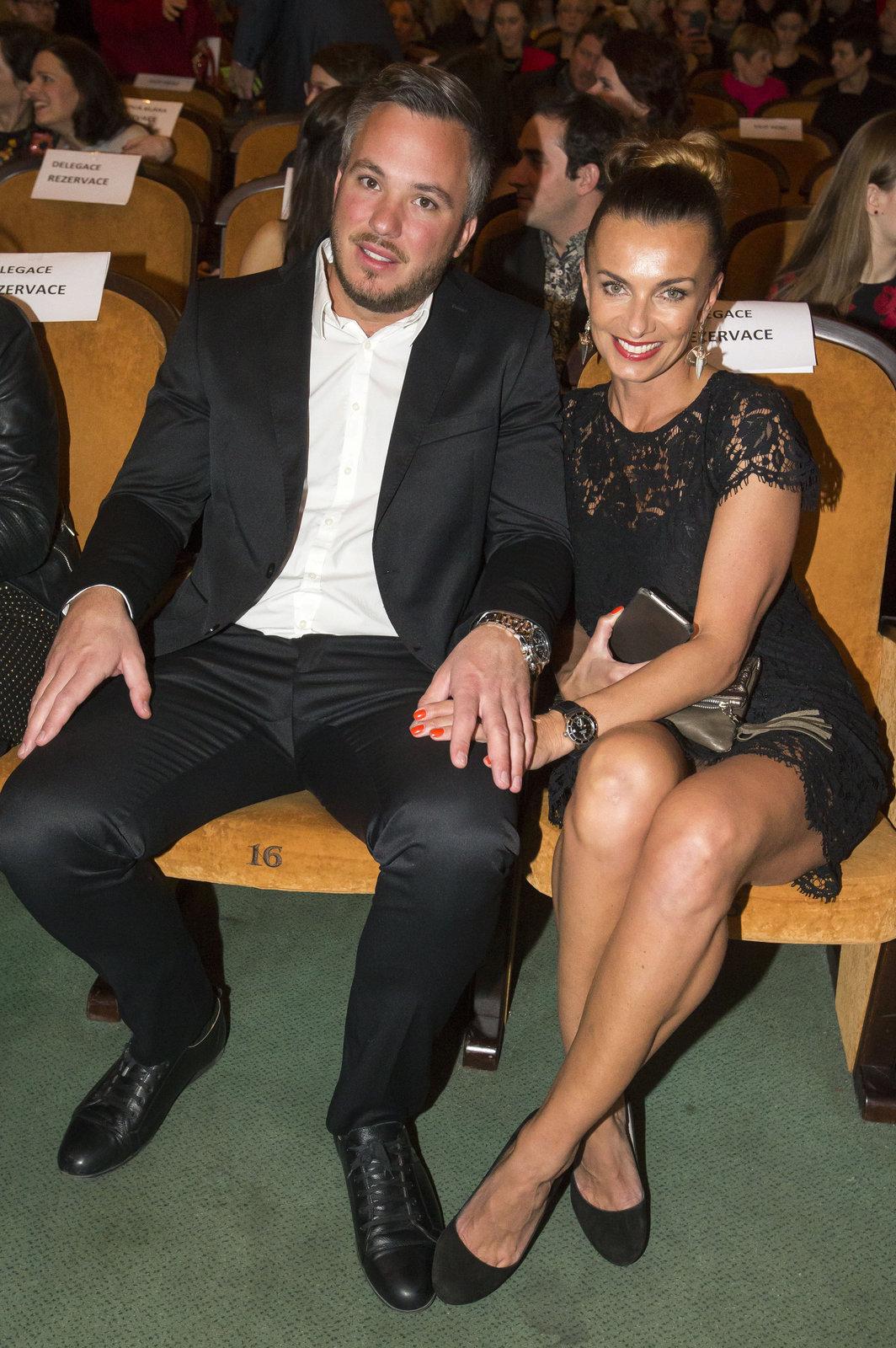Alice Bendová se svým partnerem Michalem