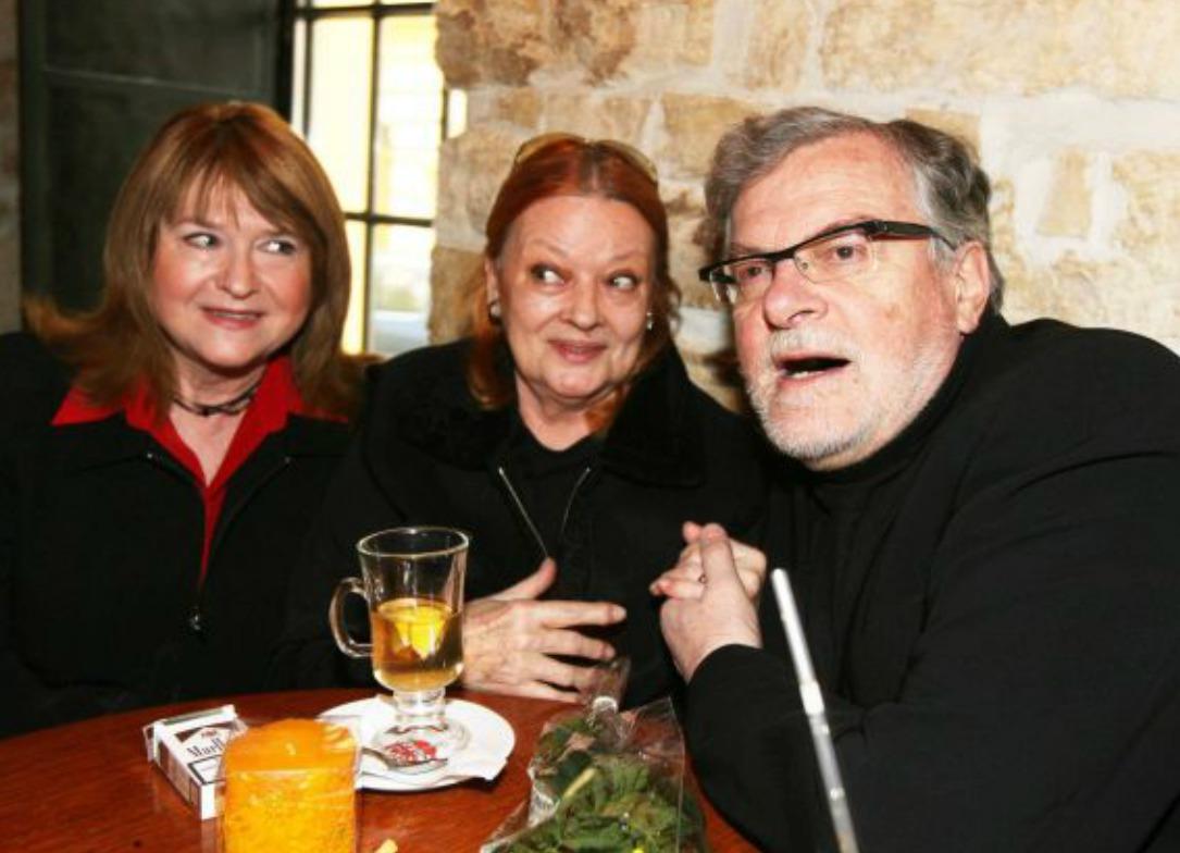 Pavlína Filipovská, Jana Brejchová a Jan Kačer