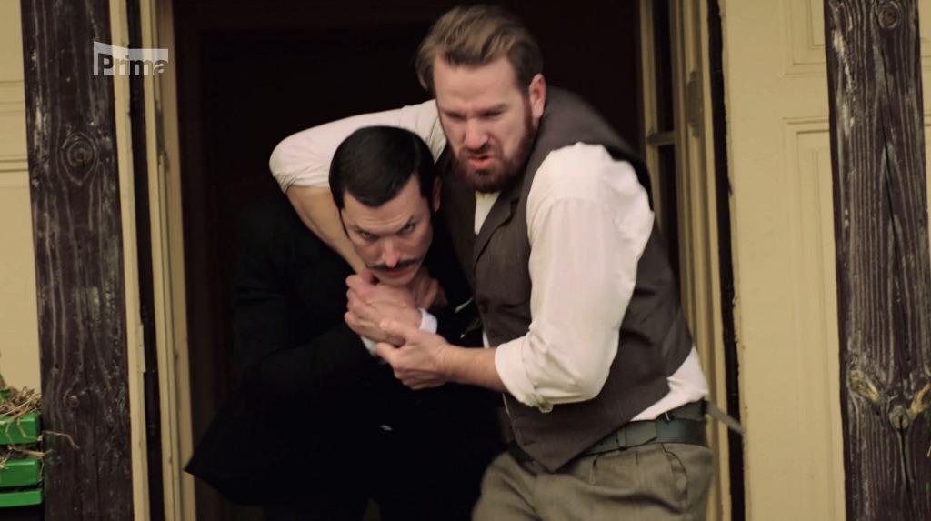 Vzájemné hecování prý přispělo k dokonalým hereckým výkonům.