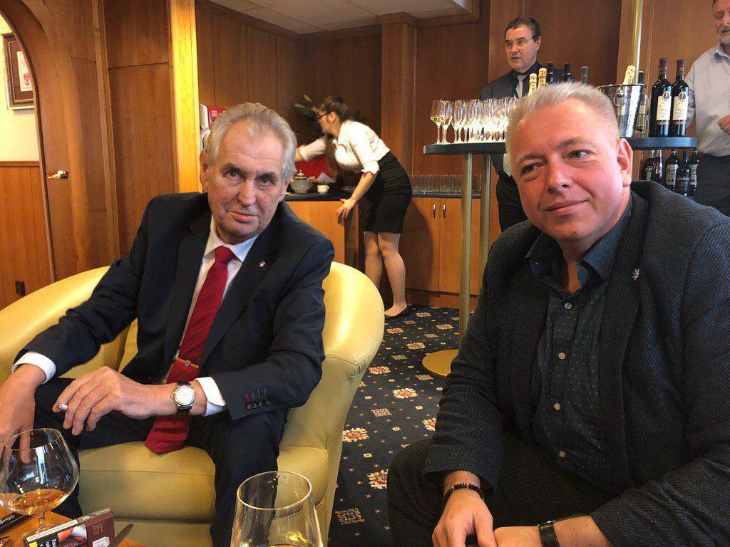 Miloš Zeman a Milan Chovanec