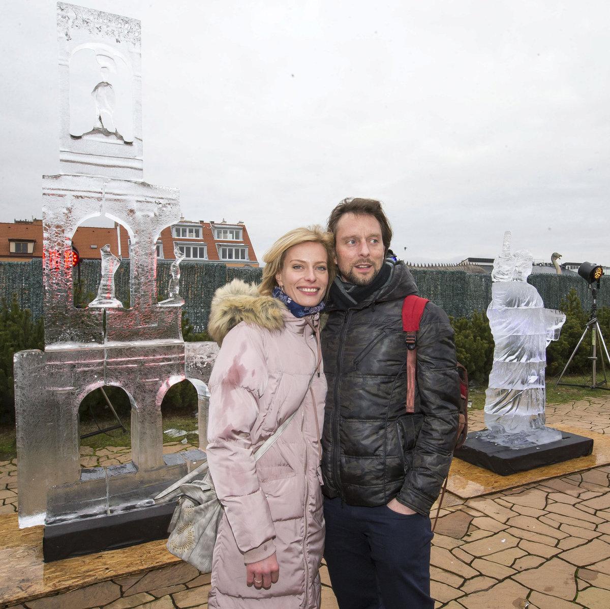 Kristina Kloubková s přítelem Václavem Kunešem.