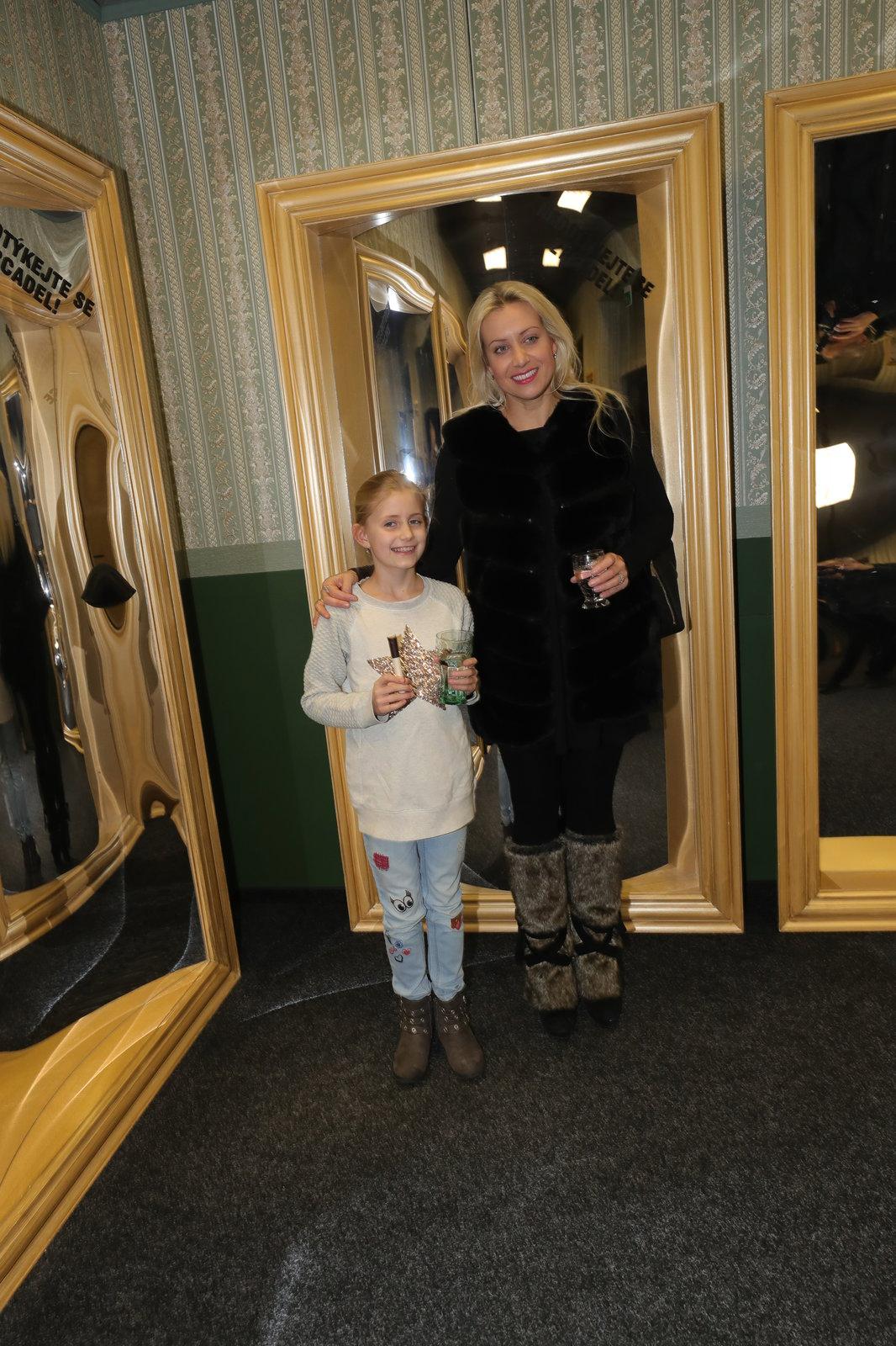 Tereza Mátlová s dcerou Emily Anne.