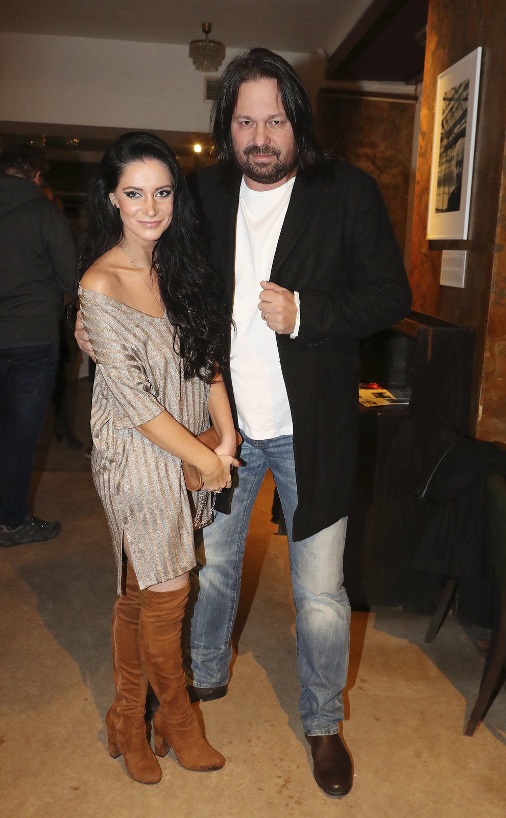 Jiří Pomeje s manželkou Andreou