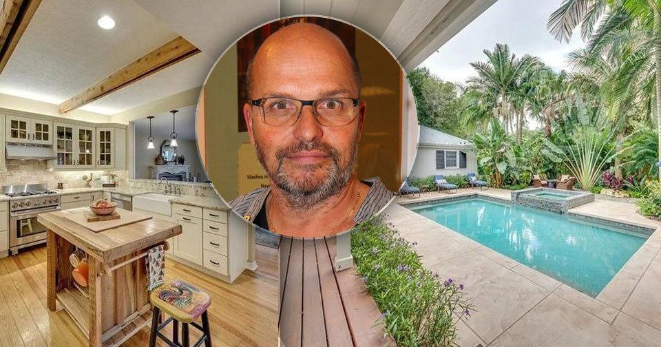 Šéfkuchař Zdeněk Pohlreich má utajenou vilu na Floridě.