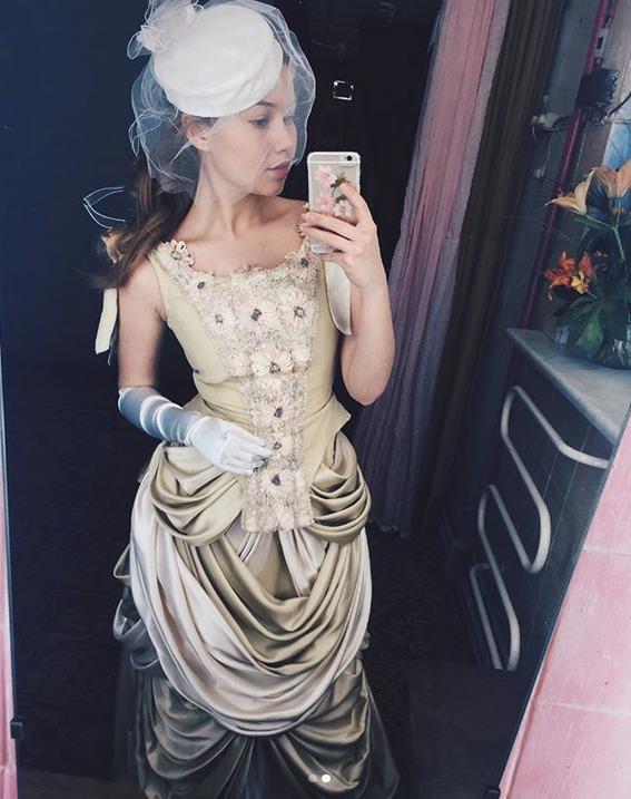 Sabina Rojková ve svatebních šatech