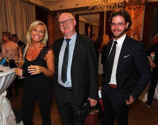 Září 2016 - Lucie Borhyová se do brněnského podnikatele a advokáta Michala Smečky (vpravo) zamilovala, když jí dělal manažera.