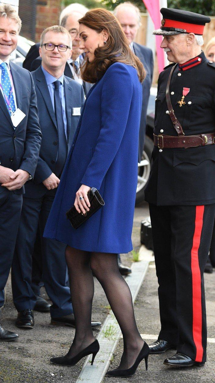 Těhotná vévodkyně Kate