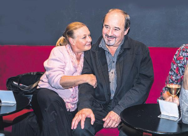 Jana Preissová s manželem Viktorem Preissem