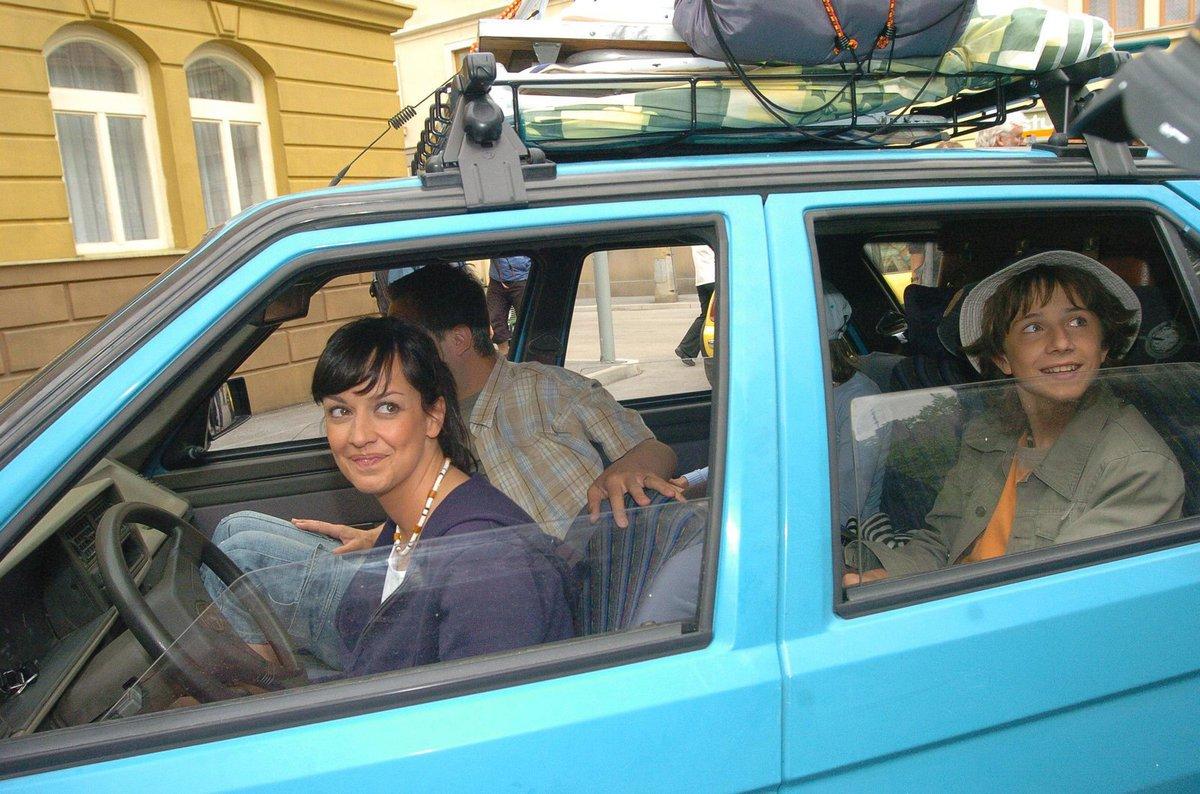 2005 - Tereza Brodská hrála v seriálu Ulice od první klapky