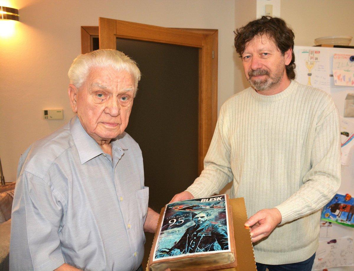 Dort od Blesku k jubileu. Emil Boček oslaví 95. narozeniny.
