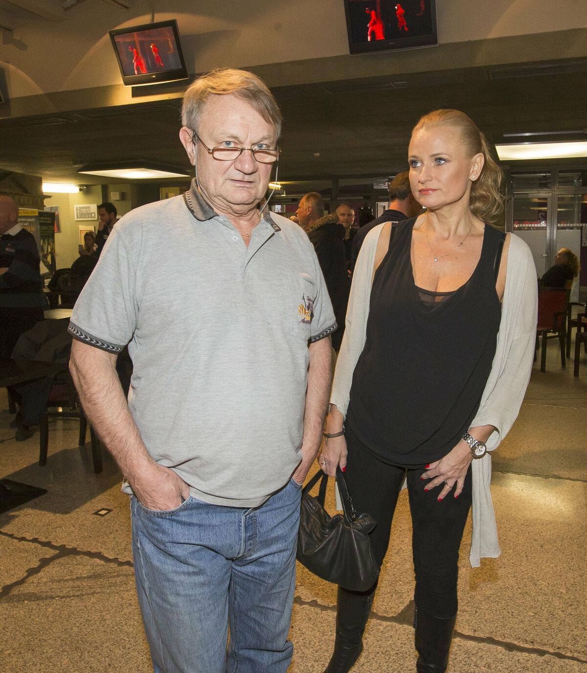 Jiří Adamec s manželkou.