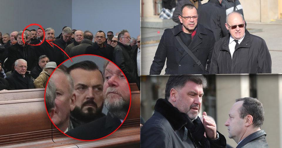 Pohřeb lobbisty Šloufa: Dorazil Zemanův muž Nejedlý, podnikatel Kočka i Foldyna