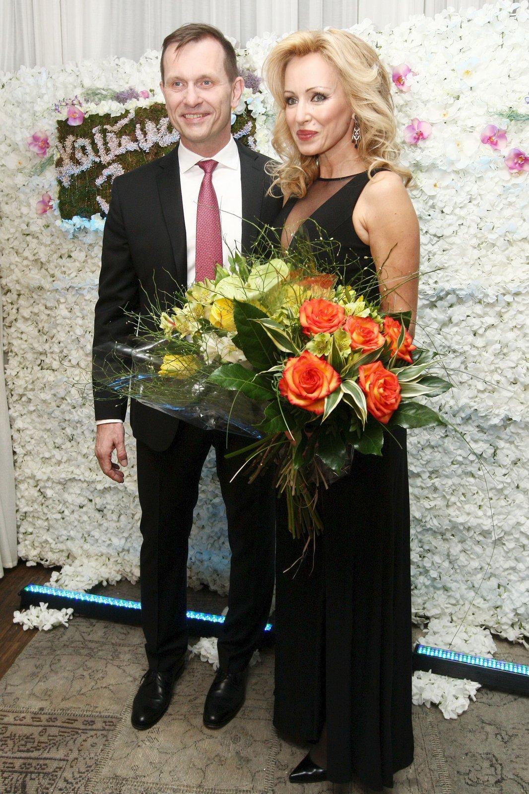 Oslava narozenin Kateřiny Brožové a Jaromíra Soukupa