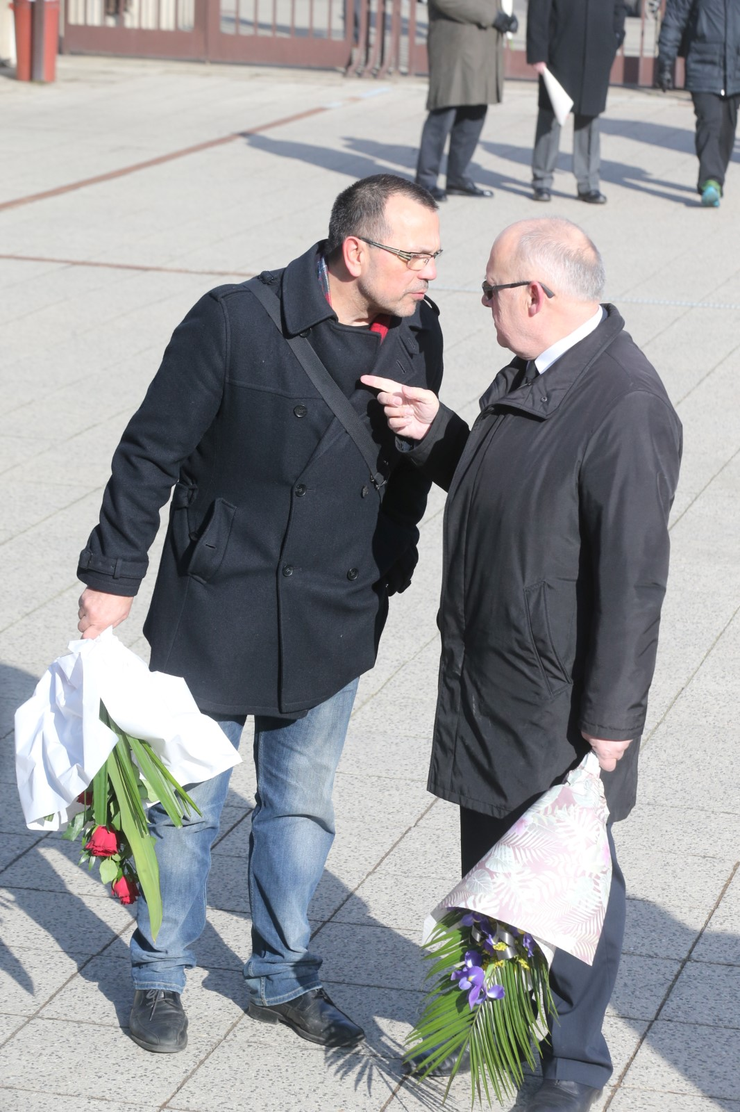 Jaroslav Foldyna a bývalý český politik a diplomat Jan Kavan