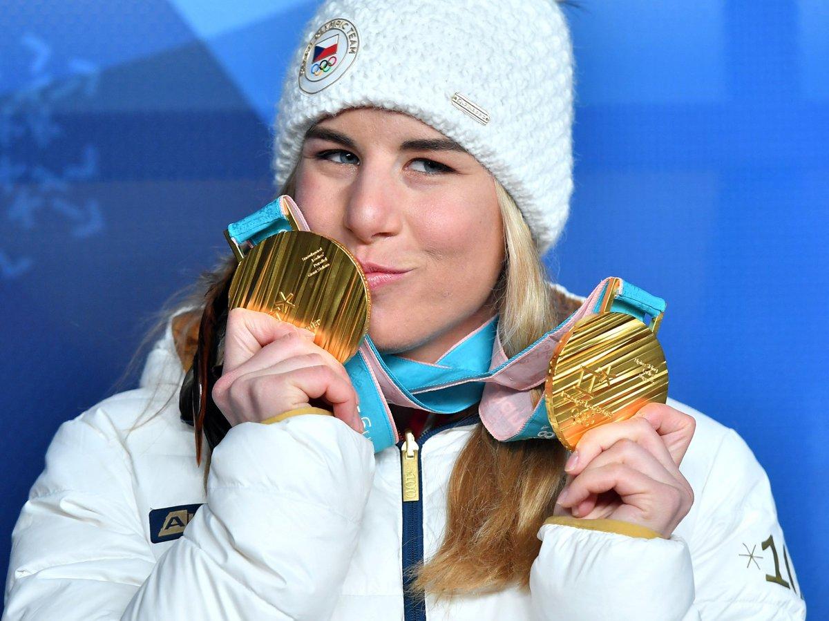 Ester Ledecká a její dvě zlaté medaile z olympiády