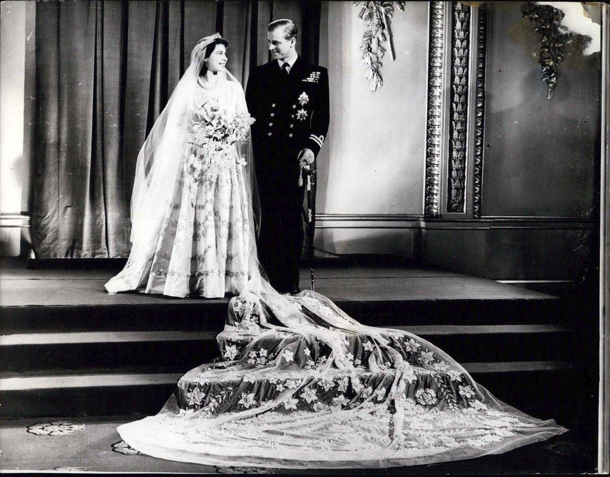 Alžběta s princem Philipem