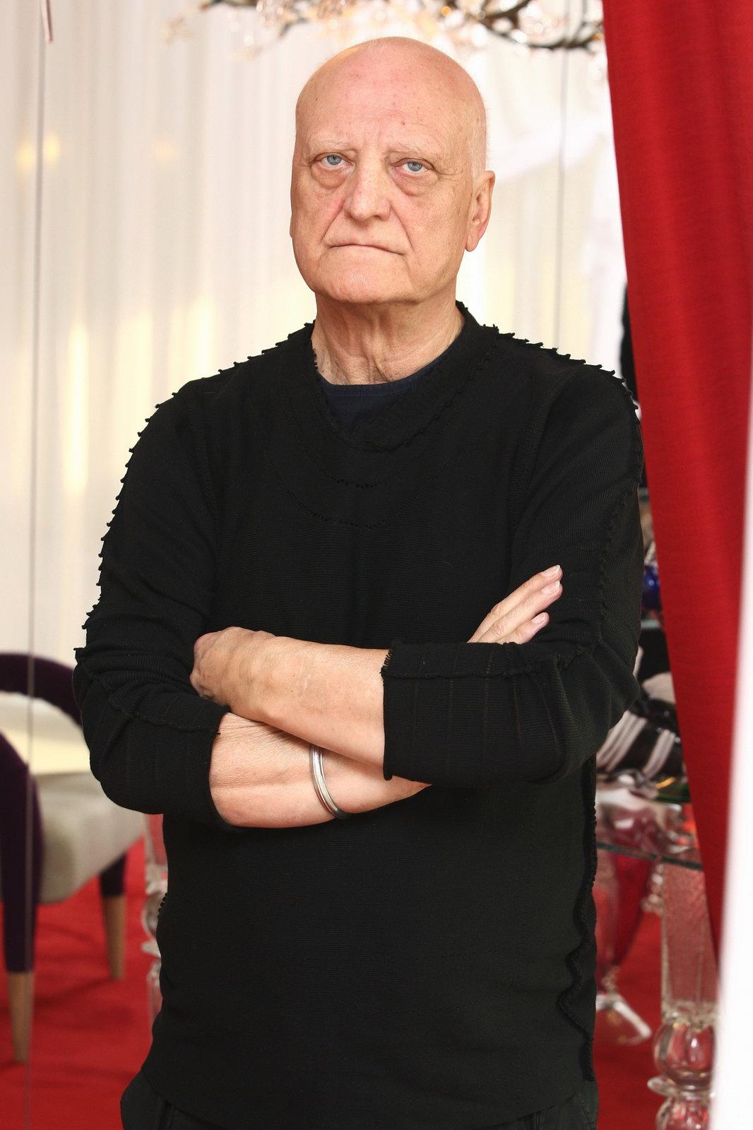 Architekt Bořek Šípek.