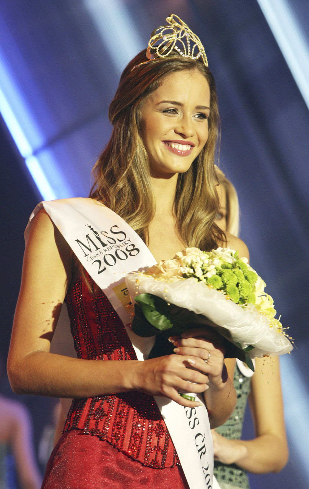 Korunku Miss ČR získala v roce 2008.