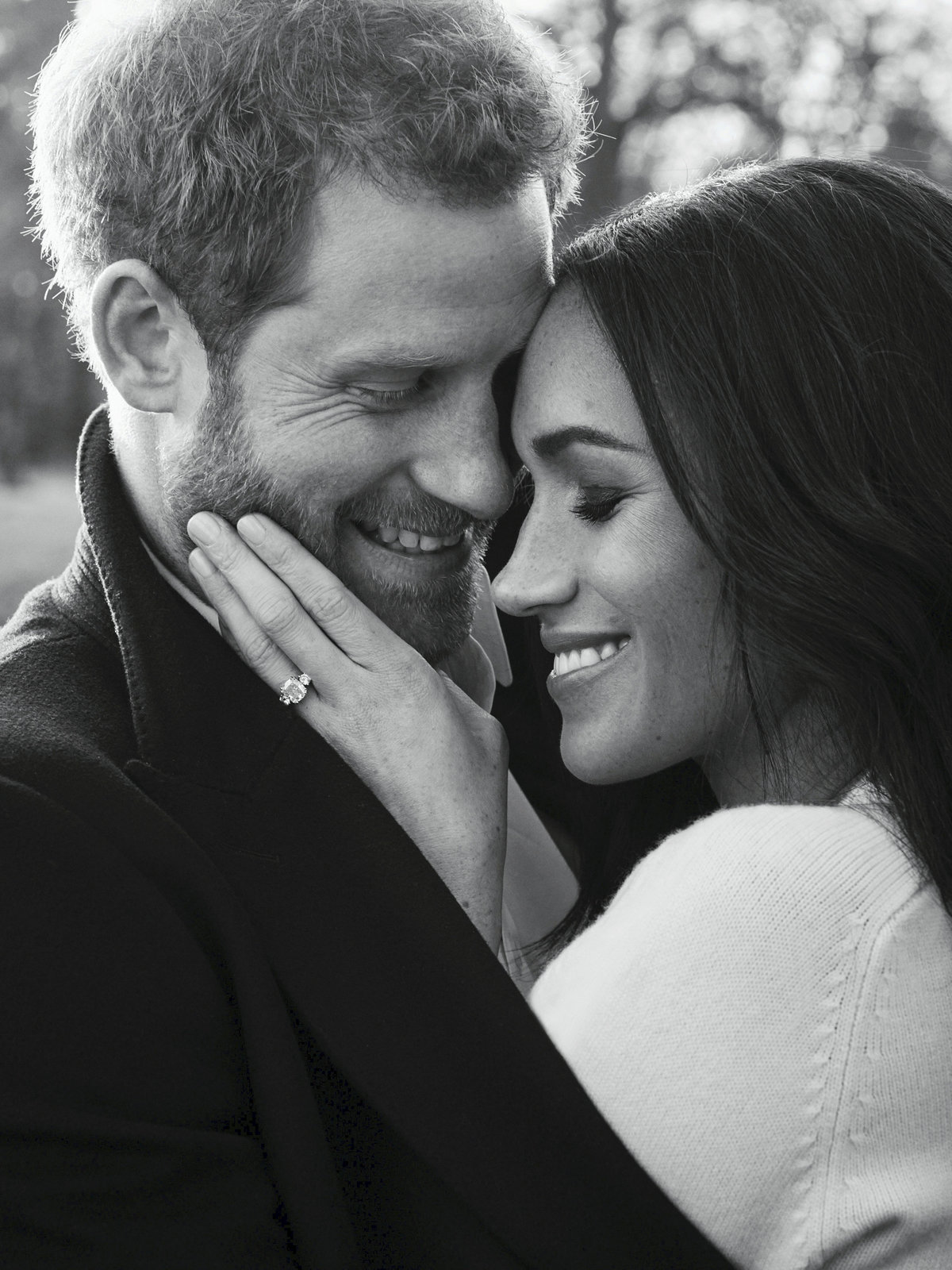 Princ Harry a Meghan Markle.