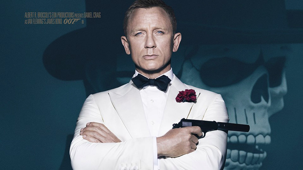 2015 Jako agent 007 ve filmu Spectre.