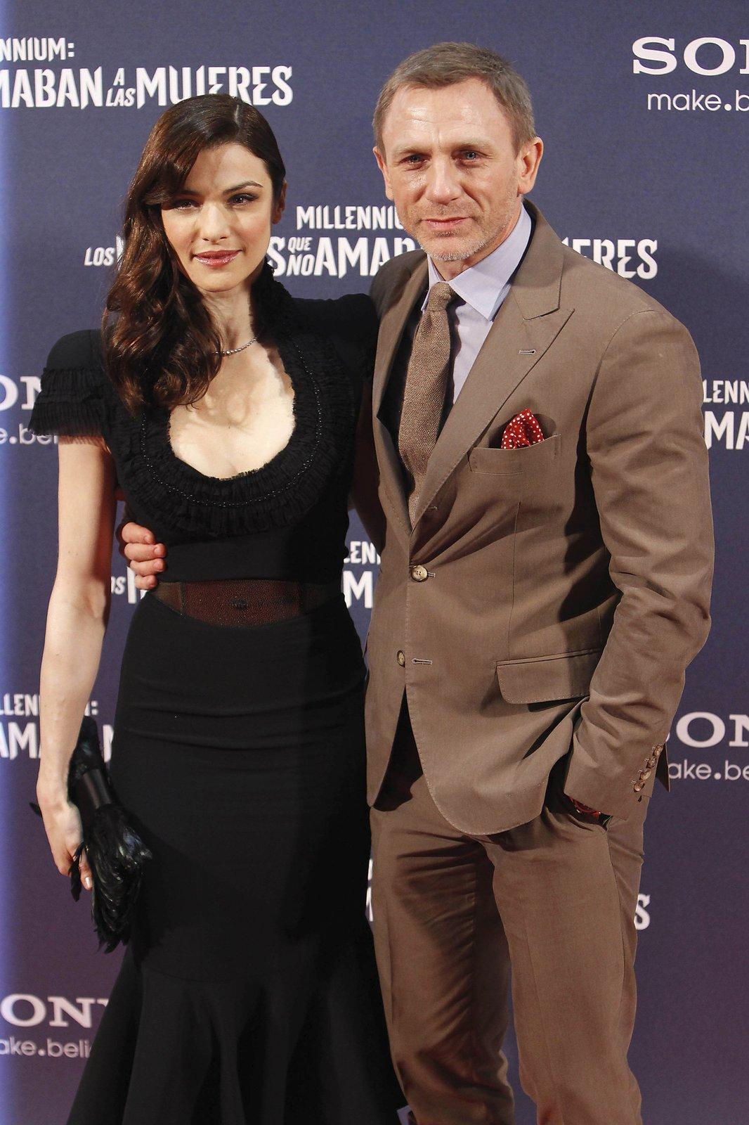 2012 S manželkou Rachel Weisz.