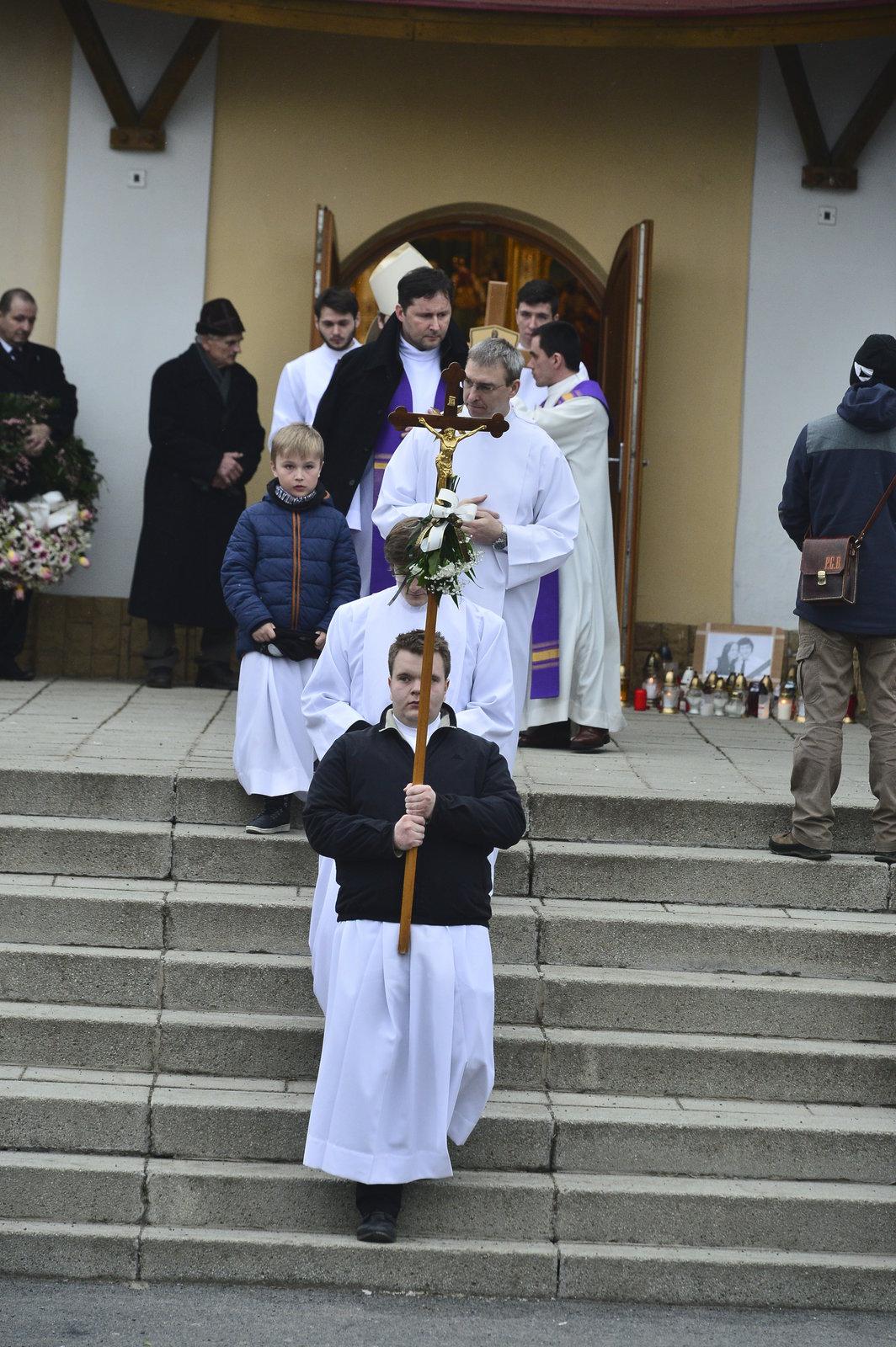 Pohřeb zavražděné Martinky se konal v Gregorovcích