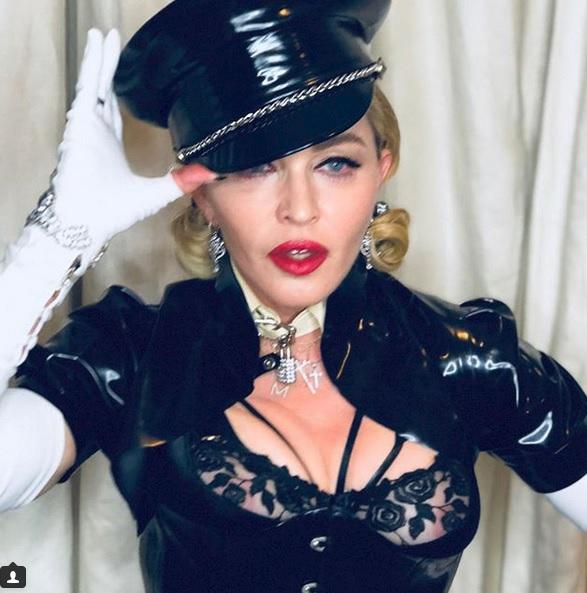 Madonna má stále, co ukazovat