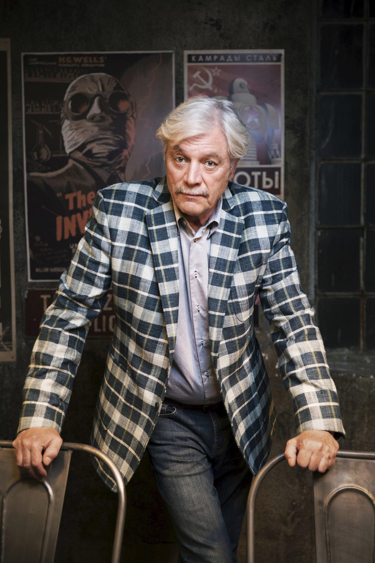 Juraj Kukura jako inspektor Max.