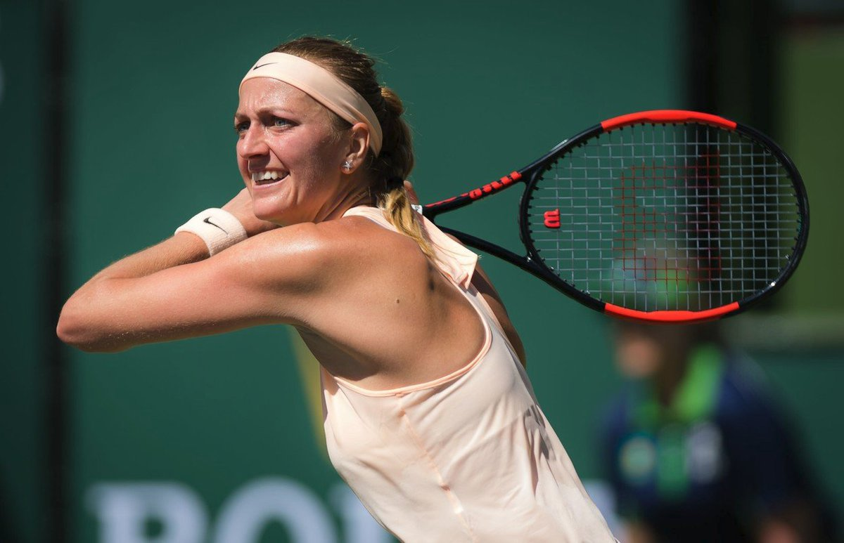Petra Kvitová vypadla z turnaje Indian Wells