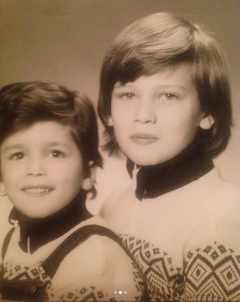 Daniela Peštová se svým bratrem Pavlem