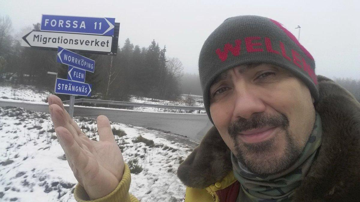 Čestmír Řanda ml. ve Švédsku
