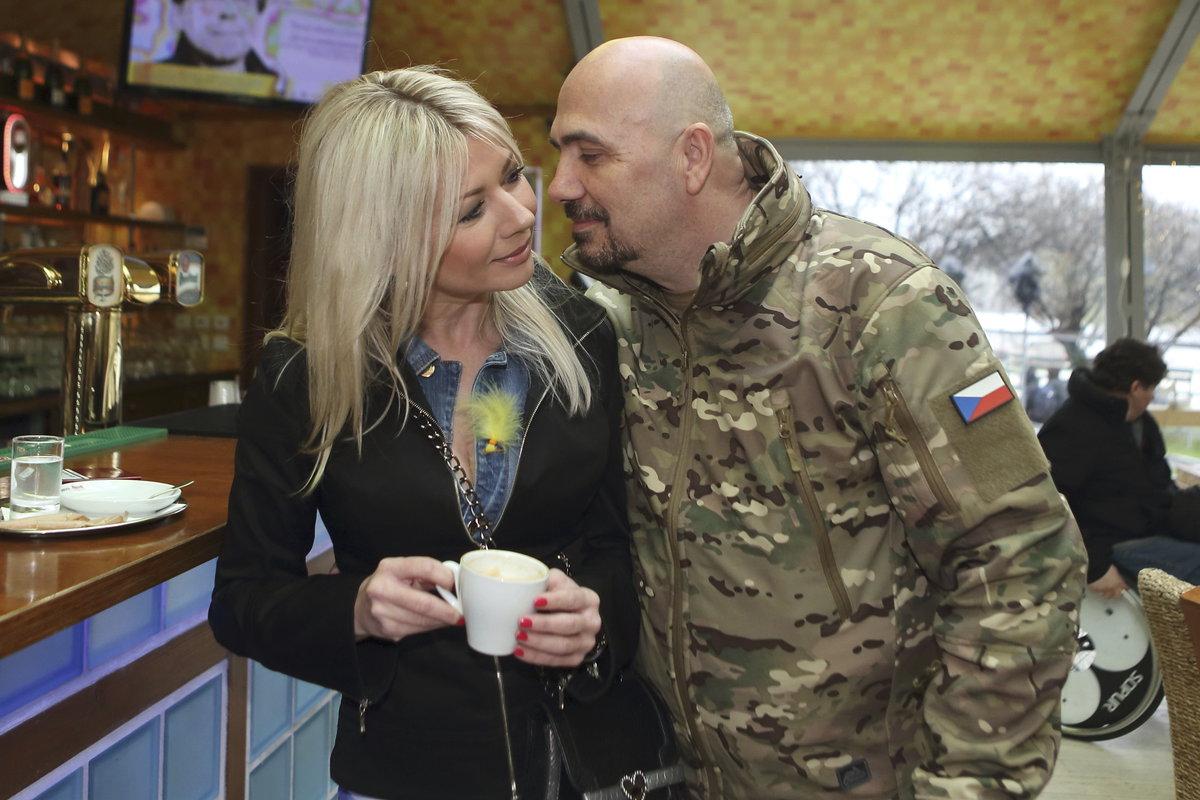 Čestmír Řanda mladší a Tina Pletánková