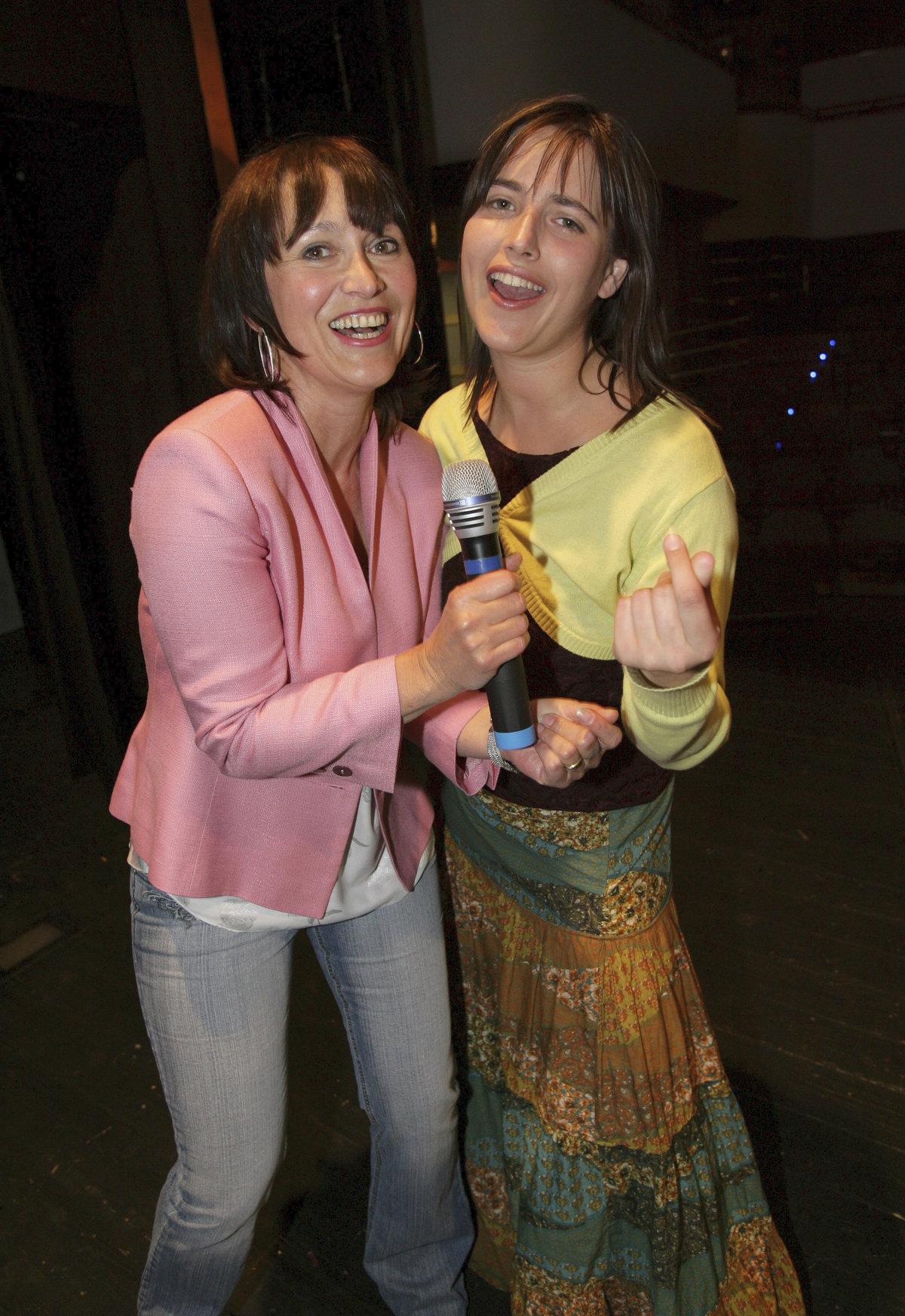 Petra Černocká (68) se svojí dcerou Bárou Vaculíkovou (38).
